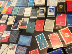 Airplane Playing Card Collection