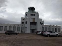 1940's airport terminal