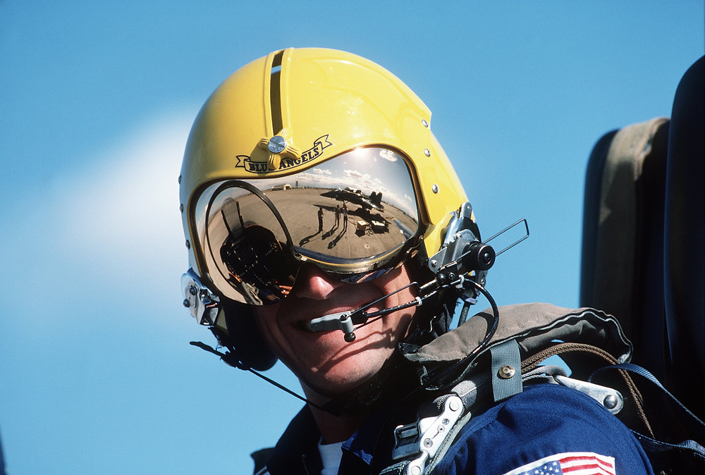 blue angel pilot