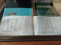 Vintage Flight Records Book