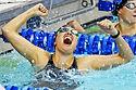 gold medal swimmer general public domain