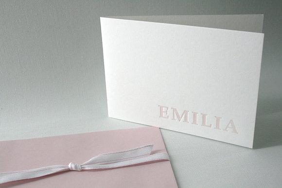 "Karte ""EMILIA"""