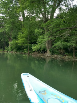 kayak on guadalupe river