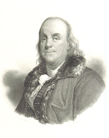 Benjamin Franklin public domain via flic