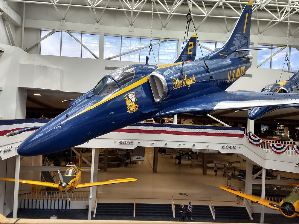 Blue Angel at Naval Aviation Museum in Pensacola
