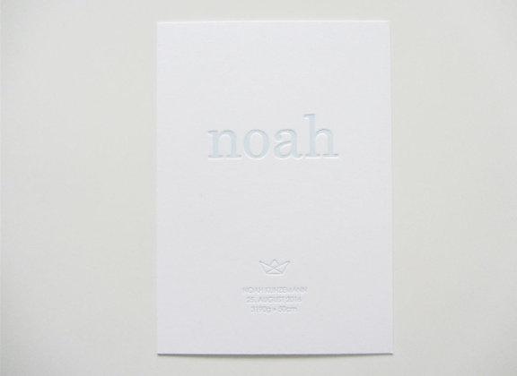 """Karte """"NOAH"""""""