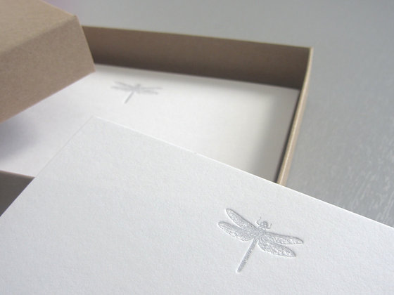 "Karten-Set ""Libelle"""