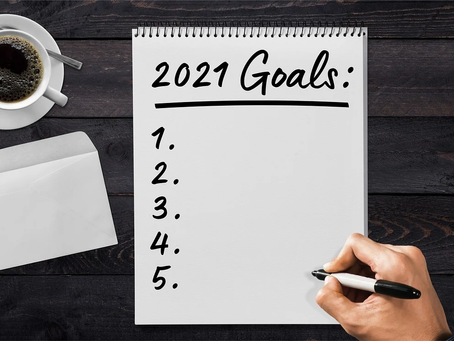 Setting Goals for 2021 – Five Areas to Keep in Mind While Goal Setting
