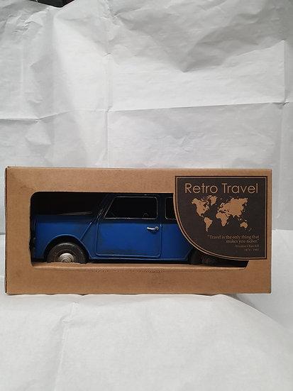 Robert Frederick Blue car