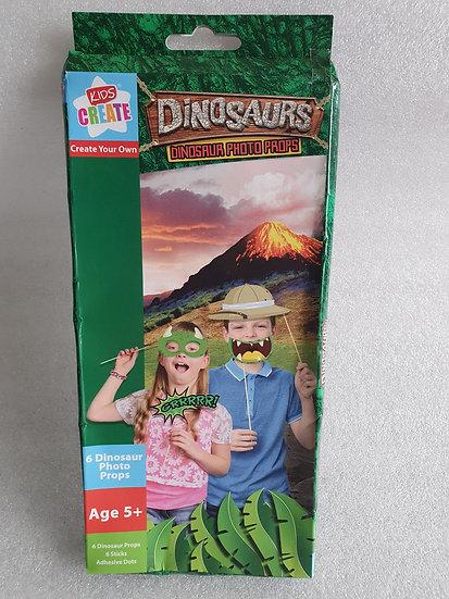 Dinosaur photo props