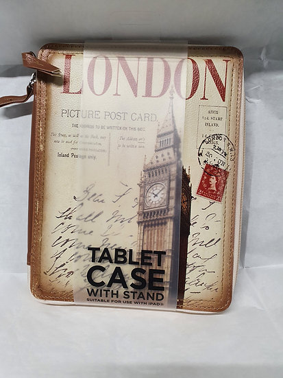 """""""London"""" tablet case with stand"""