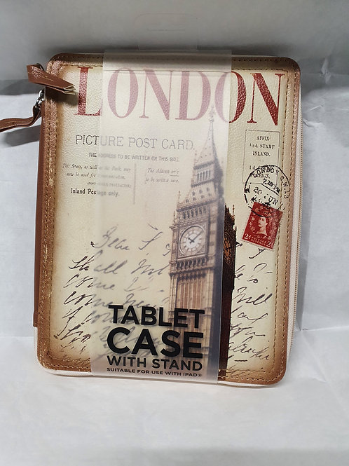 """London"" tablet case with stand"