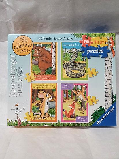 Gruffalo puzzles
