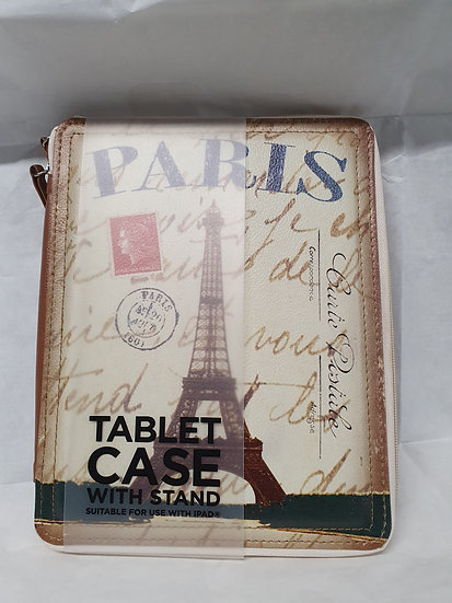 """""""Paris"""" tablet case with stand"""
