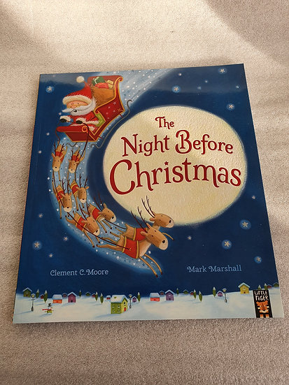 Night before Xmas book
