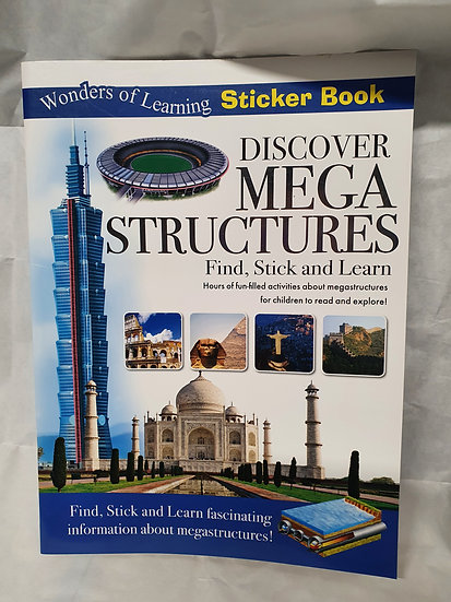 Discover Mega structures book