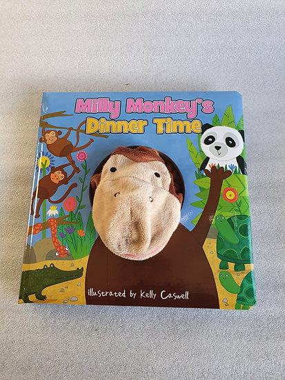 Monkey puppet book