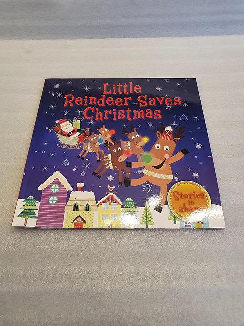 Reindeer Xmas book