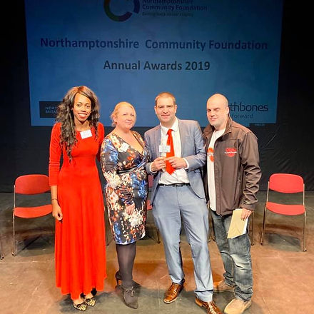 Northamptonshire Community Foundation Award 2019