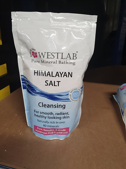 Himalayan bathing salt