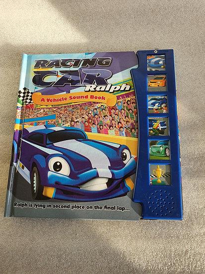 Racing car sound book