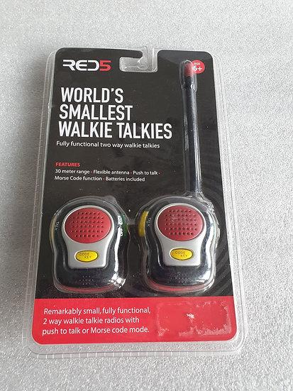 Red5 Walkie Talkies