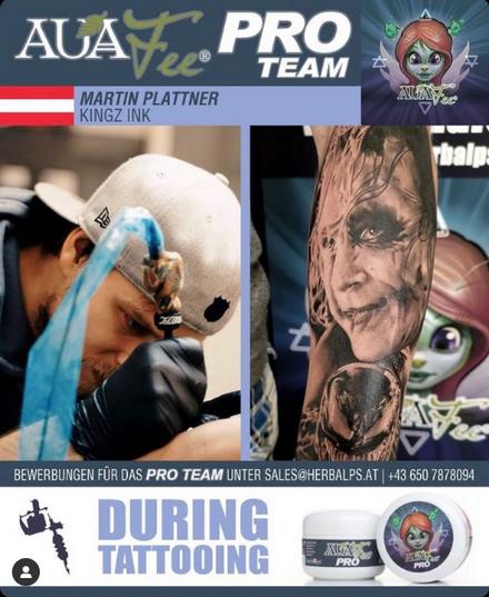 AuaFee Pro Team Artist Martin Plattner