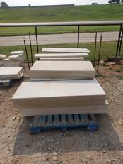 Sawn Lueders Limestone slabs
