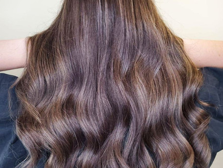 Chocolate Hair That is Delicious Without the Empty Calories | Low-Maintenance Styles