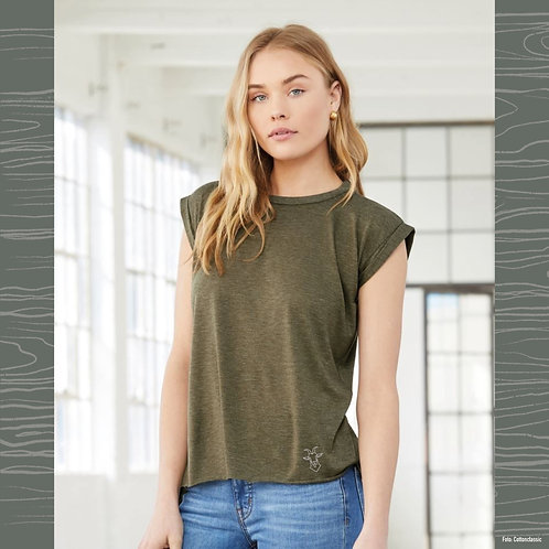 Bella+Canvas Damen Flowy Shirt - COOL ALPS