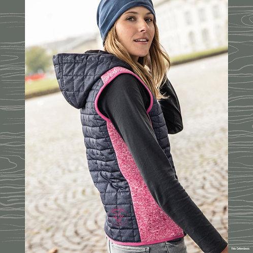 JN Damen Strick Hybrid Bodywärmer - COOL ALPS