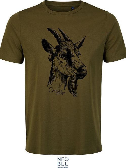 FESCHN Shirt Goasbock MEN COOL ALPS