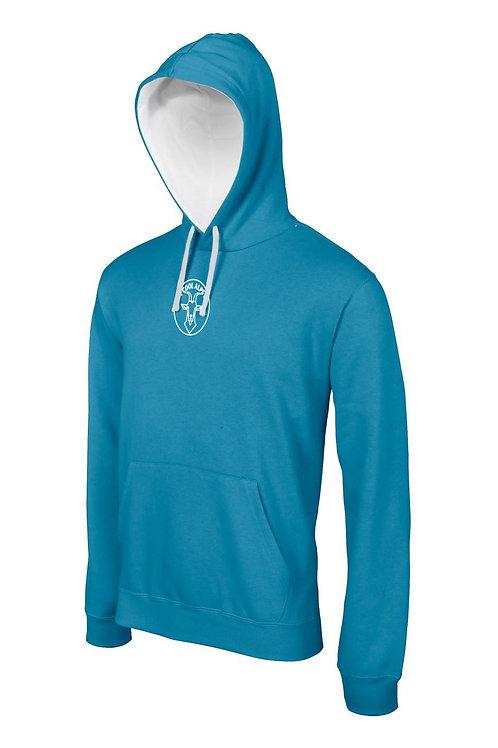 Erwachsene Kontrast Kapuzen Sweater COOL ALPS