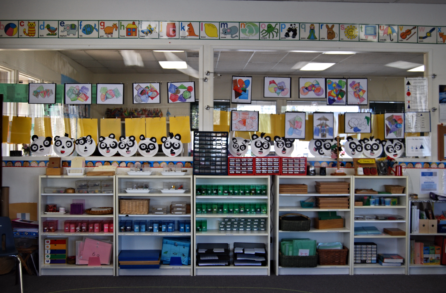 Kindergarten Language Area