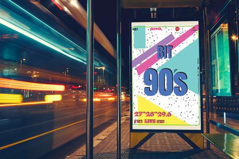 Branding - 90's music festival