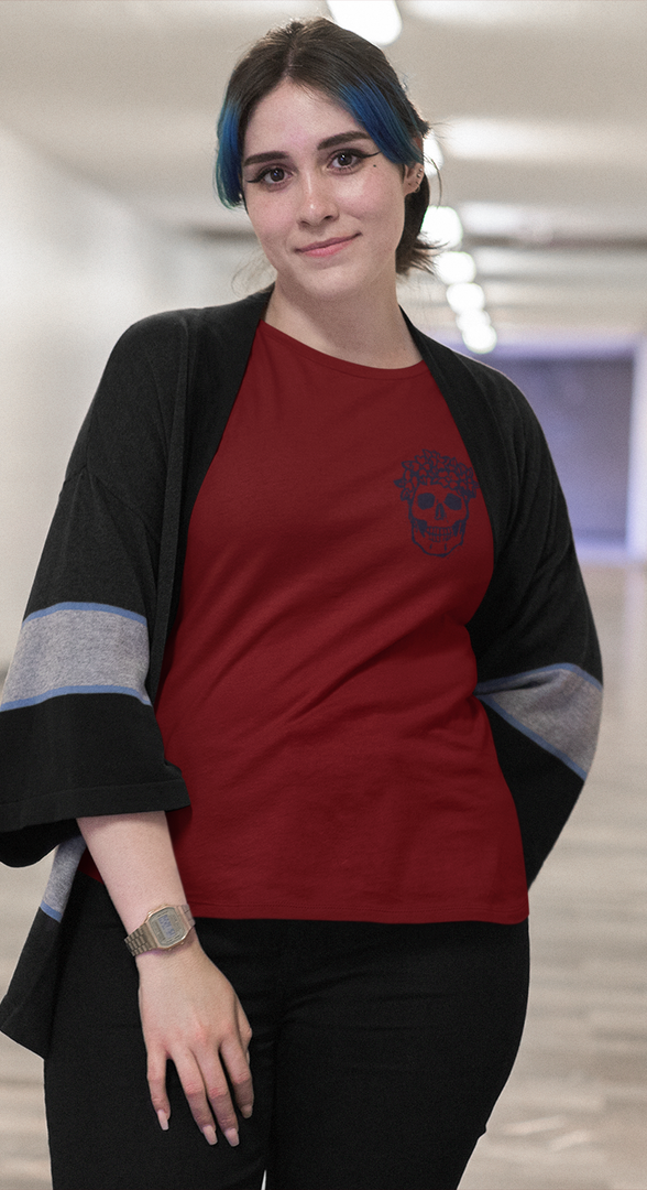 mockup-of-a-girl-wearing-a-plus-size-tee