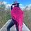 "Thumbnail: ""JESSICA SIMPSON SHAWL"" Hot Pink"