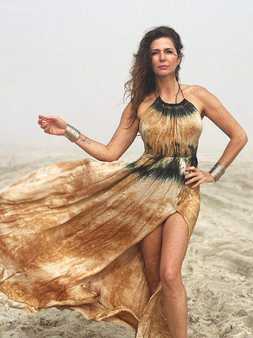SATIN silky dress