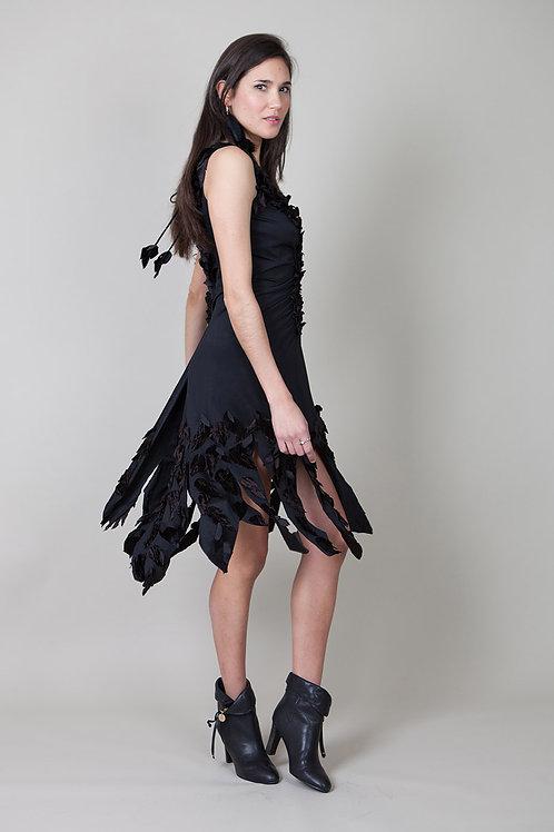 Velvet Leaf Dress