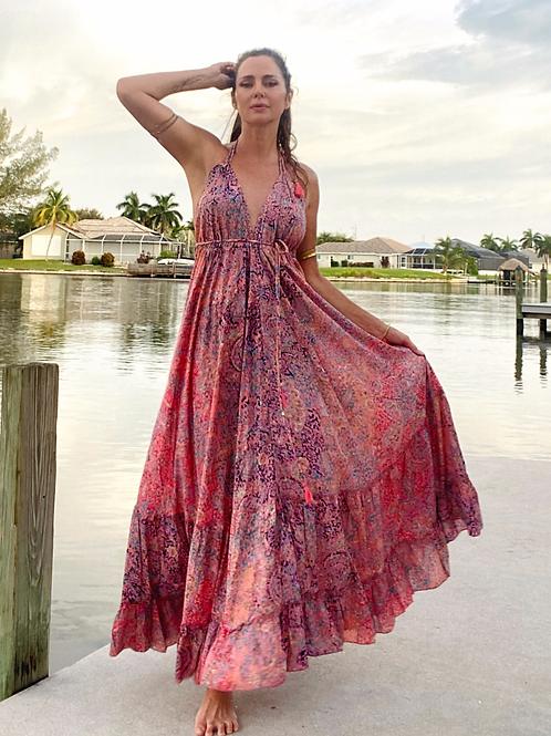 FLOW dress - TULIP Pink