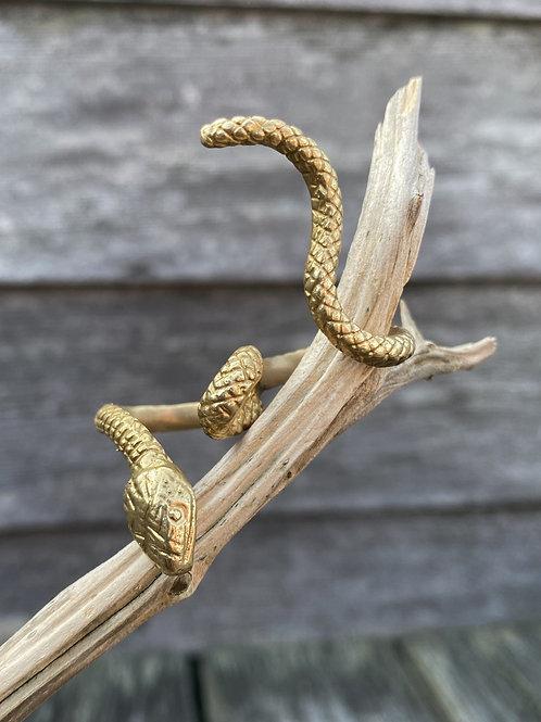 Snake 'Rebirth' Ring-GOLD