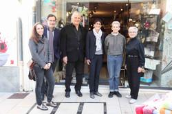 Léonard Gianadda, Anne-Laure Couchepin Vouilloz et des amies de Vaison-la-Romaine