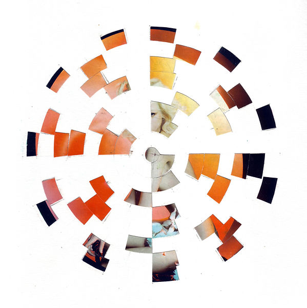 CJ Robinson collage tile series