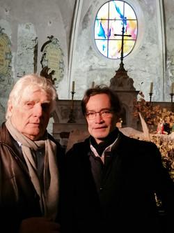 A la cathédrale de la haute ville de Vaison-la-Romaine