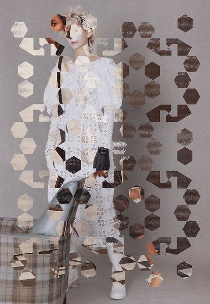CJ Robinson collage grid series