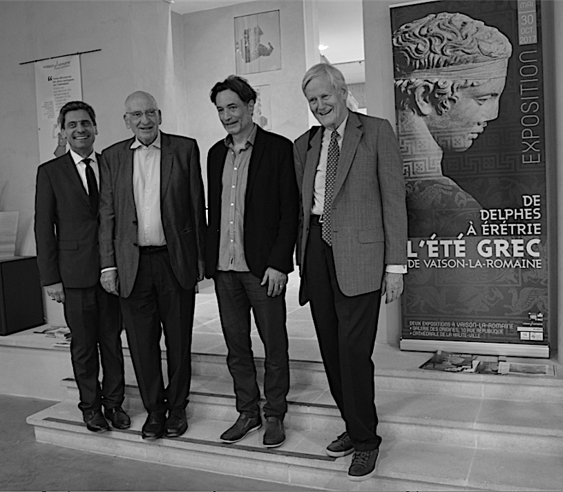 Présentation de L'été grec 2017 avec Pierre Ducrey, Philippe Turrel et Pascal Couchepin