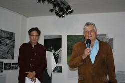 Léonard Gianadda à la galerie des Origines