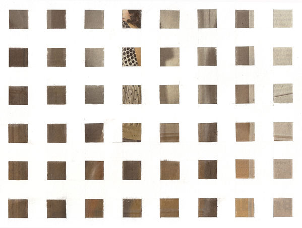 CJ Robinson collage grid series