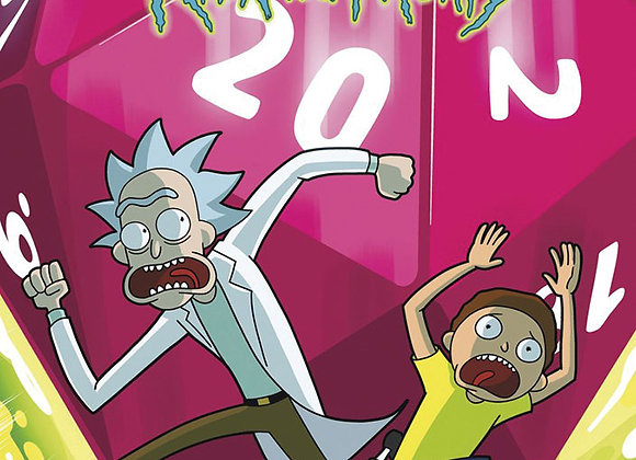 Dungeons and Dragons RPG: Dungeons & Dragons vs. Rick and Morty