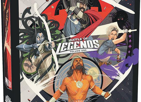 Unmatched: Battle of Legends Vol. 1 - King Arthur, Alice, Medusa, Sinbad